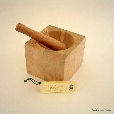 Reclaimed Timber Pestel & Mortar
