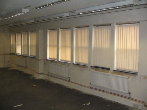 Local Charity Refurbishment  Supply and Fit  Vertical Blinds 58 Off