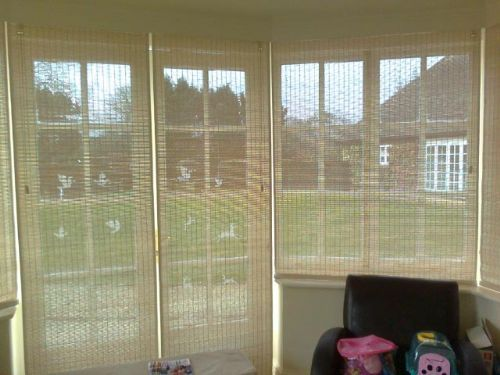 Pinoleum Blinds Supply and Fitted Bay Windows and Doors x 6