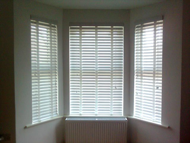 Supply & Fit 50mm Wooden Venetians x 7