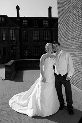 Bride and Groom at The University of Hull