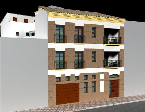 4 Quality apartments with secure parking in Alora, Malaga