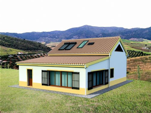 An example of an Eco Casa with plans available, changes to suit you not a problem.