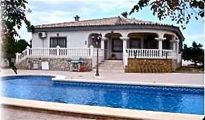 Typical Bungalow with Private Pool in Murcia, Spain