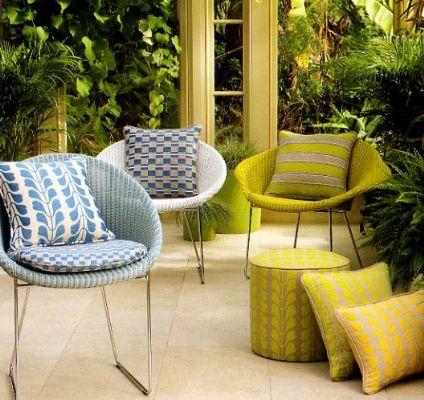 Osborne & Little outdoor fabrics