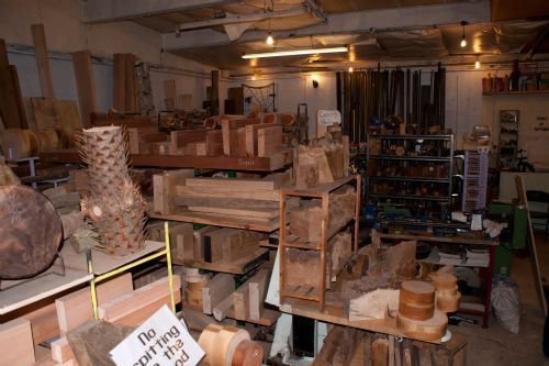 The timber shop