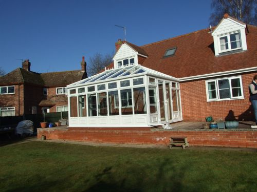 Edwardian Conservatory  built this year in Wroxham