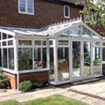 new conservatory from Britelite Windows Kent