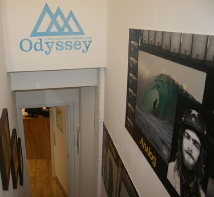 Odyssey stairs