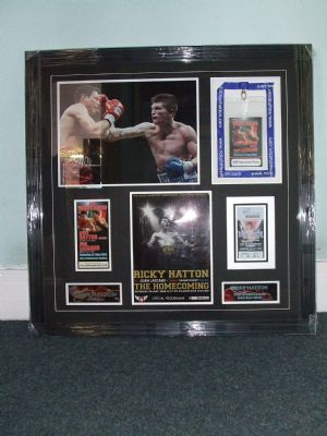 Ricky Hatton Collage