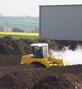 A high grade compost derived soil conditioner screened through a 40 mm screen.