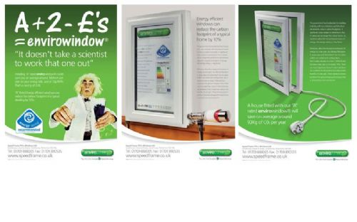 Series of Magazine Adverts