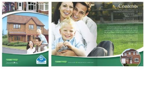 Retail 16 page Window and Door Brochure