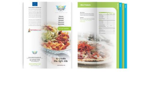 Stepped Food Ingredients Brochure