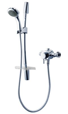 Unichrome Thames Exposed Mixer Shower - Triton Showers