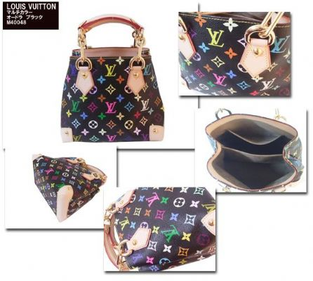 Louis vuitton 33 multicolor bags 180usd.