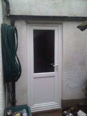 72 Edgemond Rd  Rear upvc door fitted by 0121 Repairs