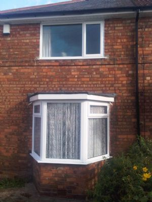 Bay window fitted Greenleigh Rd