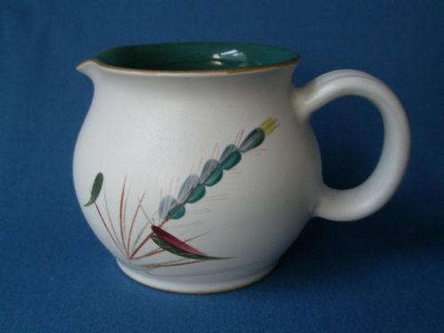 Denby Greenwheat Milk Jug