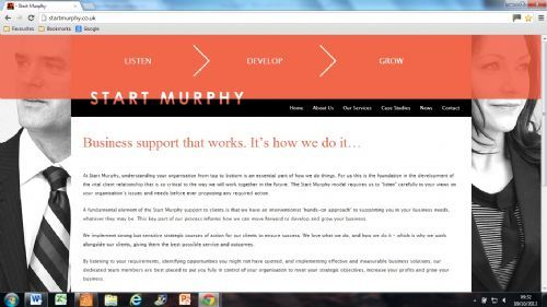 Start Murphy Website Home Page