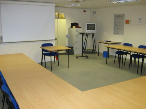 Typical classroom facility in the training centre