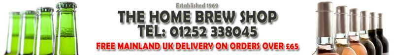 The Home Brew Shop Logo / Banner