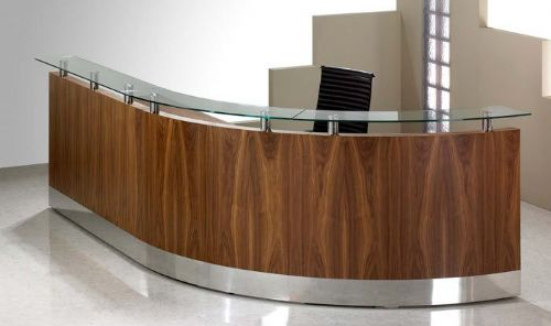 Reception desk, one of hundreds!