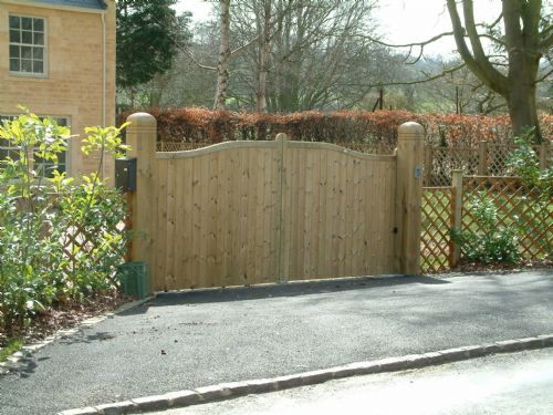 Residential gates.