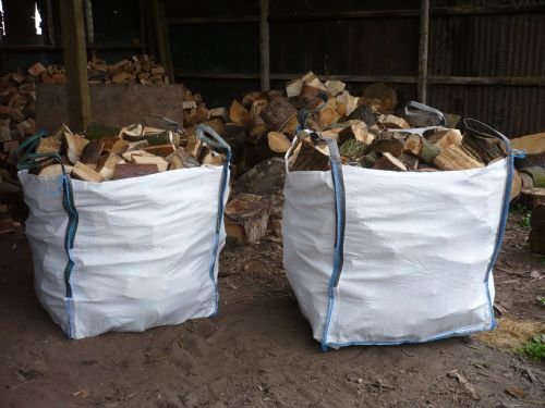 73 cubic meters of firewood.