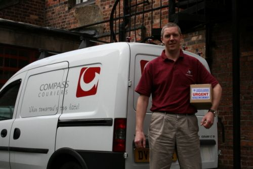 Urgent Delivery? Don't panic! We have couriers waiting across Staffordshire & Cheshire to help!