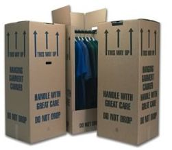 Portable wardrobes provide with every move