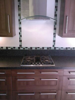 Previous work Neff hob glass extractor