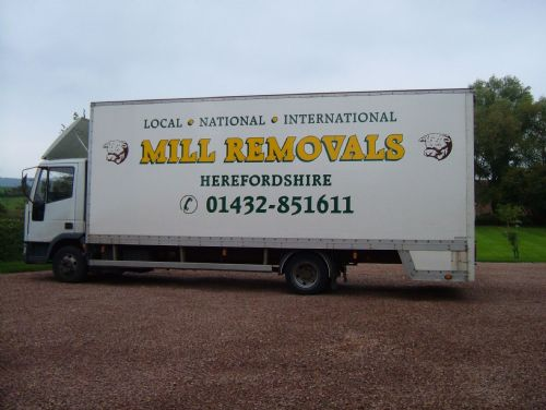 Mill removals vehicle