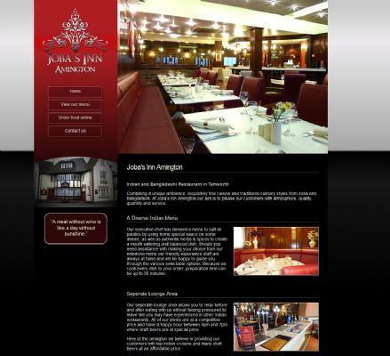 Jobas Inn - Web Design