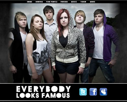 Myspace Design - Everybody Looks Famous