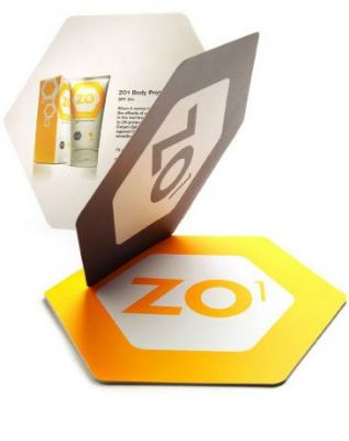 Branding and brochure - ZO1 Suncare System