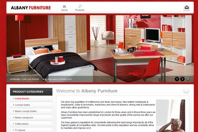 Albany Furniture Website