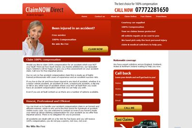 Claim Now Direct Website