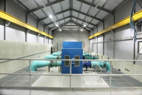 A pumping station