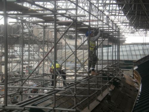 Temporary Roof Structures
