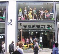 Resurrection Shop front