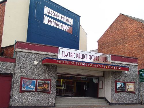 Cinema frontage.