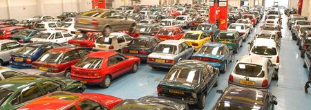 The Showroom where customers can view salvage vehicles