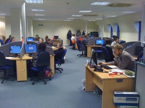 New call centre in Edinburgh City Centre