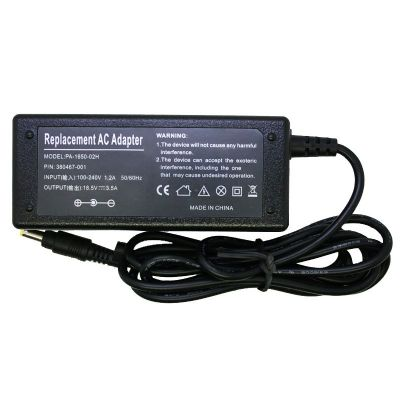 Hp adapter 18. 5v 3. 5a.