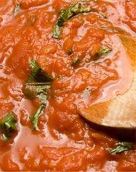 Italian sauce and pesto.