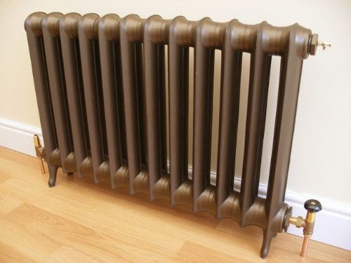 Cast Iron radiators brought back to former glory
