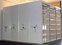 Mobile Shelving is the most cost effective and space efficient filing system on the market