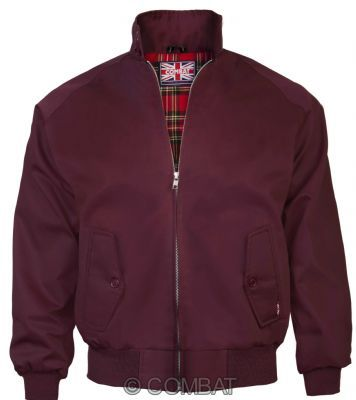 Harrington Jacket Burgundy / Wine