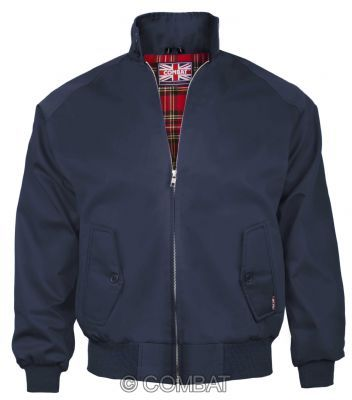 Navy /  Blue Harrington Jacket Combat